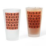 Kawaii Orange Cat Paw Drinking Glass