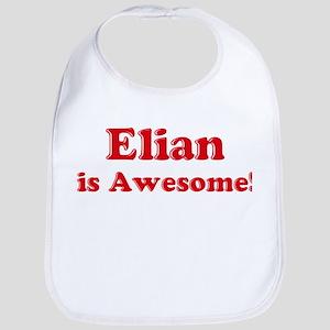 Elian is Awesome Bib
