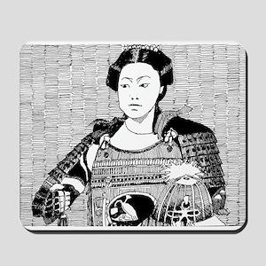 lady samurai Mousepad