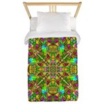 Yellow Mandala Pattern Twin Duvet