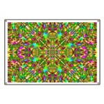 Yellow Mandala Pattern Banner