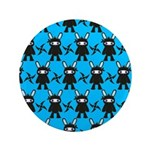 Turquoise Ninja Bunny Pattern 3.5