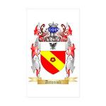 Antonioli Sticker (Rectangle 50 pk)