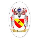 Antonio Sticker (Oval 10 pk)