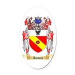 Antonin Oval Car Magnet