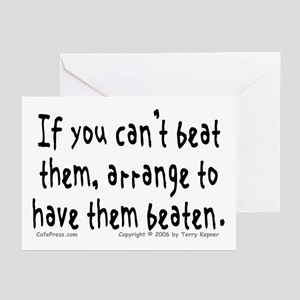 Beat Them... Greeting Cards (Pk of 10)