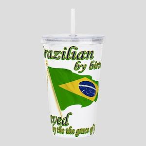 brazil Acrylic Double-wall Tumbler