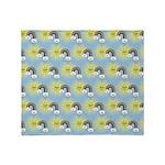 Kawaii Rainbow Pattern Throw Blanket