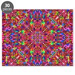 Pink Mandala Pattern Puzzle