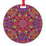 Pink Mandala Pattern Ornament
