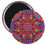 Pink Mandala Pattern Magnet