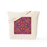 Pink Mandala Pattern Tote Bag