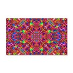 Pink Mandala Pattern Wall Decal