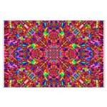 Pink Mandala Pattern Posters