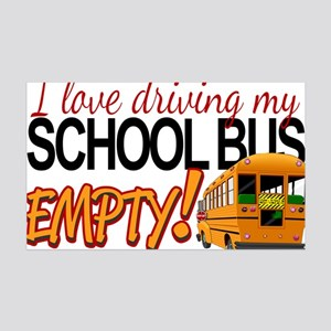 Bus Driver - Empty Bus 35x21 Wall Decal
