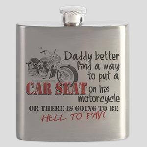 Baby Biker Attitude Flask