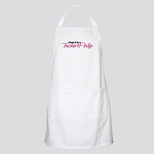 Proud to be a Truckers Wife Apron