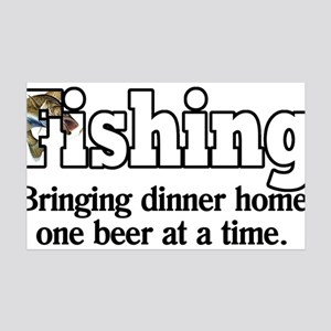 one beer at a time.png 35x21 Wall Decal