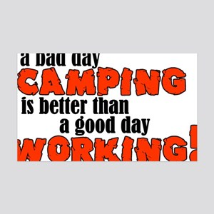 campclock 35x21 Wall Decal