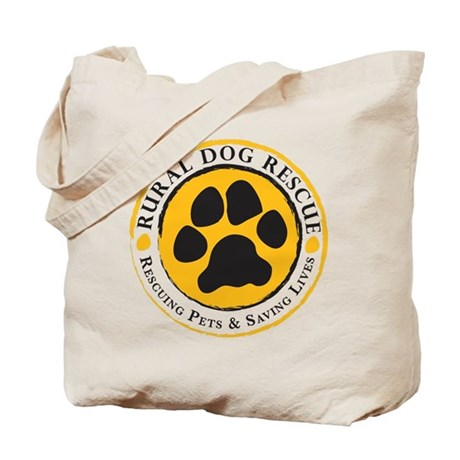 Rural Dog Rescue Tote Bag
