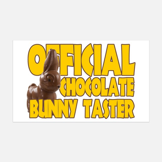 Official Chocolate Bunny Taster Wall Decal