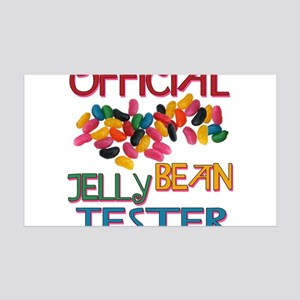 Jelly Bean Tester 35x21 Wall Decal