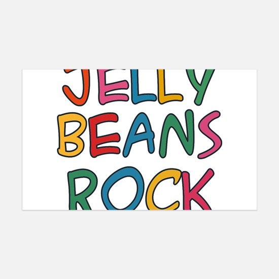 Jelly Beans Rock Wall Decal