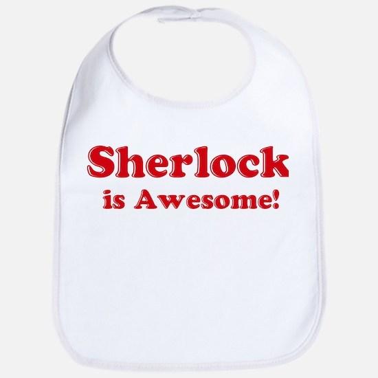 Sherlock is Awesome Bib