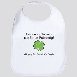 Happy St. Patricks Day Bib