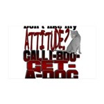 1-800-GET-A-DOG 35x21 Wall Decal