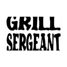 grill sergeant.png Wall Decal