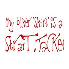 Strait Jacket Wall Decal