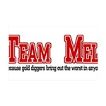 Team Mel 35x21 Wall Decal