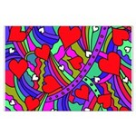 Heart and Rainbow Pattern Posters