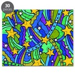 Shooting Star Hippie Pattern Puzzle