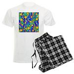 Shooting Star Hippie Pattern Pajamas