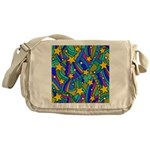 Shooting Star Hippie Pattern Messenger Bag