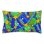 Shooting Star Hippie Pattern Pillow Case