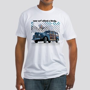 Surfing Fitted T-Shirt