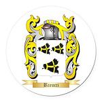 Barocci Round Car Magnet
