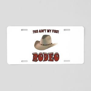 RODEO Aluminum License Plate