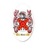Baro Oval Car Magnet