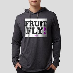FRUIT FLY - PINK ZIP: - Mens Hooded Shirt