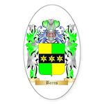 Barns Sticker (Oval)