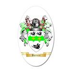 Barnini 35x21 Oval Wall Decal