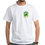 Barnes White T-Shirt