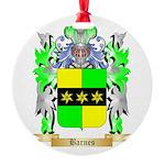 Barnes Round Ornament