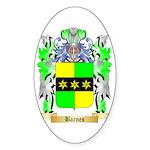 Barnes Sticker (Oval 50 pk)