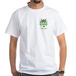 Barneby White T-Shirt