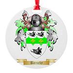 Barneby Round Ornament